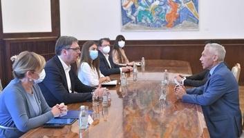Az orosz nagykövettel tárgyalt Vučić - illusztráció
