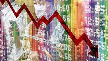 Több mint 19 százalékkal zuhant a brit GDP a májussal zárult három hónapban - illusztráció