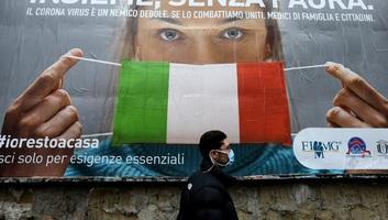 Olaszországban zárt térben továbbra is maszkot kell viselni, és távolságot kell tartani egymástól - illusztráció