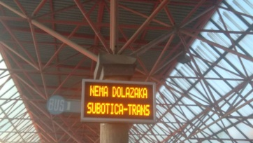 Leáll Magyarország felé az autóbusz-közlekedés is - A cikkhez tartozó kép
