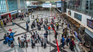 Koronavírusteszt-központ nyílik a budapesti repülőtéren - A cikkhez tartozó kép