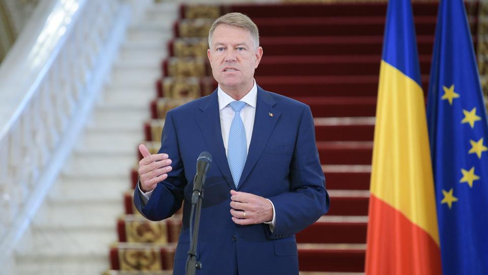 Klaus Iohannis román államfő