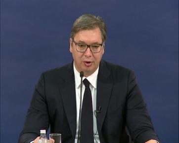 """Vučić: Belgrád semmit sem tud a """"végső megállapodásról"""", az EU nem cáfolta meg Hotit - A cikkhez tartozó kép"""