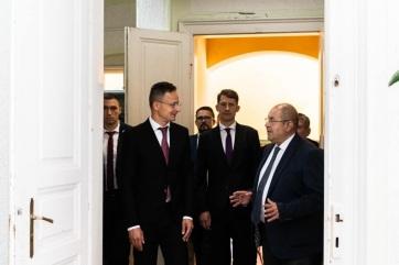 Szijjártó: Pásztor István megérdemli a kinevezést! - A cikkhez tartozó kép