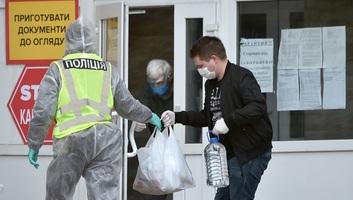 Gyorsuló ütemben terjed a koronavírus-járvány Ukrajnában - illusztráció