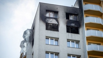 Legalább tizenegyen meghaltak egy lakóháztűzben a kelet-csehországi Bohumínban - illusztráció