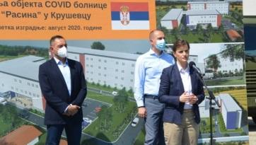 Új covid-kórház épül Kruševacon - A cikkhez tartozó kép