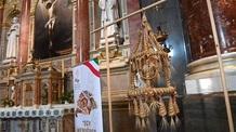 Elhelyezték a Kárpát-medence Aratókoszorúját a Szent István-bazilikában - illusztráció