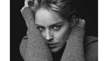 Sharon Stone emlékiratain dolgozik - illusztráció