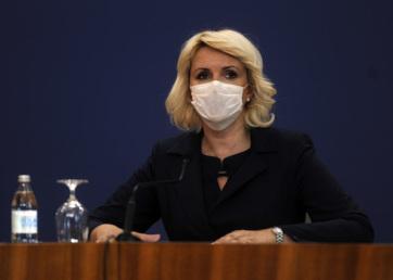 Kisić Tepavčević: Nem lazíthatunk, a maszkokat még sokáig viselni fogjuk - A cikkhez tartozó kép
