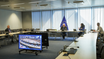 Borrell: Szankciók előkészítésében állapodtak meg az uniós külügyminiszterek - A cikkhez tartozó kép