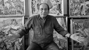 Meghalt Sváby Lajos festőművész - illusztráció