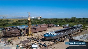 A világ legnagyobb tartályhajója épül Nagybecskereken - illusztráció