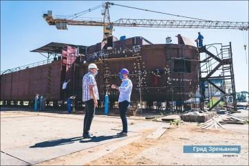 A világ legnagyobb tartályhajója épül Nagybecskereken - A cikkhez tartozó kép
