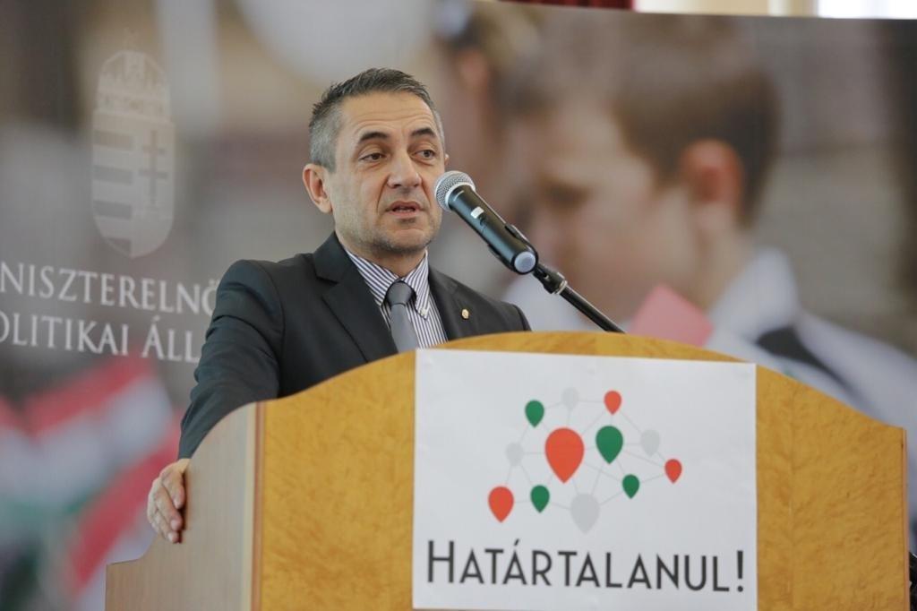 Potápi Árpád János nemzetpolitikáért felelős államtitkár (archív felvétel)