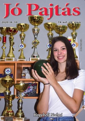 Jó Pajtás (2020. szeptember 10.): Egyensúlyozni a sport és az iskolai feladatok között - A cikkhez tartozó kép