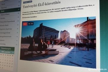A járvány miatt vegyes rendszerben kezdte el 20. tanévét a Sapientia erdélyi egyetem - A cikkhez tartozó kép