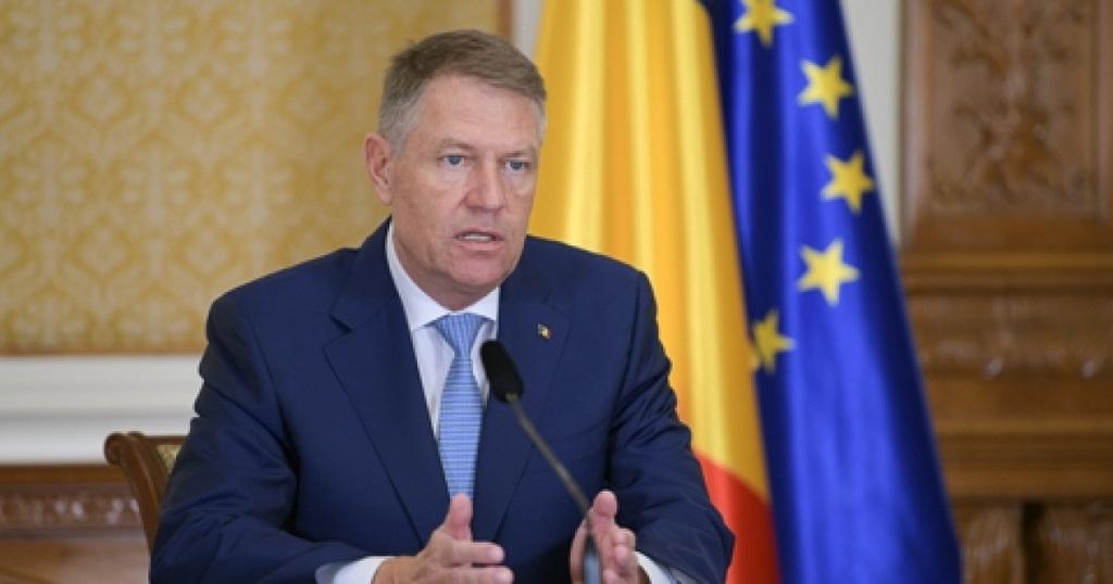 Klaus Iohannis román elnök