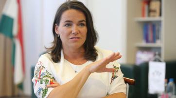 Novák Katalin: A tárca nélküli miniszteri kinevezés nem bürokratikus lépés - A cikkhez tartozó kép