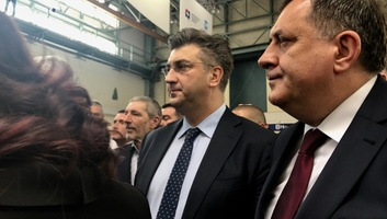 Feszültség támadt Horvátország és a Bosznia-hercegovinai Föderáció között Milorad Dodik zágrábi látogatása miatt - illusztráció