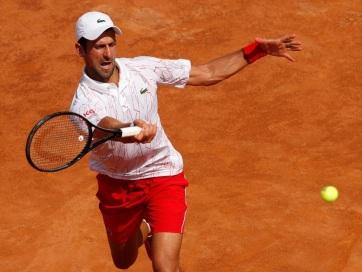 Tenisz: Đoković győzelemmel kezdett Rómában - A cikkhez tartozó kép