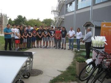 Muzslya: Átadták az adományokat az Emmausz Fiúkollégiumnak - A cikkhez tartozó kép