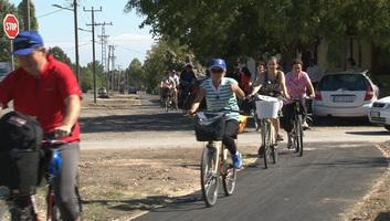 Szabadka: A közlekedésbiztonság mellett a turizmus fejlődését is serkentik a kerékpárutak - illusztráció