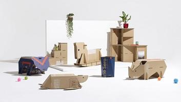 A Samsung csökkentette ökológiai lábnyomát: Gyerekjáték készülhet a dobozokból - illusztráció