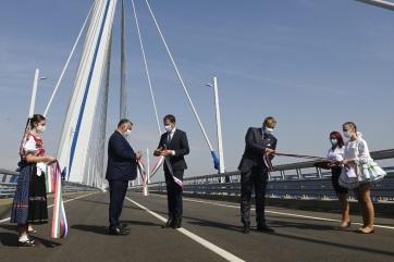 """Magyar-szlovák hídátadási ünnepség: """"Európa ma Közép-Európában épül"""" - A cikkhez tartozó kép"""