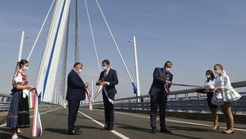 """Magyar-szlovák hídátadási ünnepség: """"Európa ma Közép-Európában épül"""" - illusztráció"""
