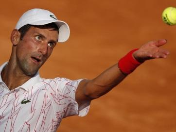 Tenisz: Đoković legyőzte Krajinovićot Rómában - A cikkhez tartozó kép
