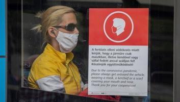 Budimpešta: Od danas se naplaćuju kazne za nenošenje zaštitne maske - illusztráció