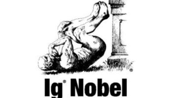Héliumos aligátorért és szemöldökalapú nárcizmuskutatásért is adtak idén anti-Nobel-díjat - illusztráció