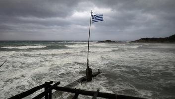 Harmadik napja tombol a medikán Görögországban - illusztráció