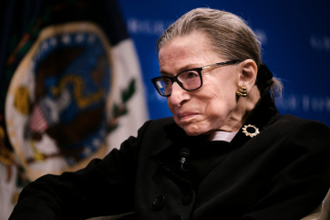 """Meghalt Ruth Bader Ginsburg, a leghíresebb amerikai bíró, Trump szerint """"káprázatos asszony volt"""" - A cikkhez tartozó kép"""