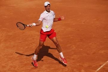 Tenisz: Đoković megszenvedett a továbbjutásért Rómában - A cikkhez tartozó kép