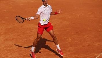 Tenisz: Đoković megszenvedett a továbbjutásért Rómában - illusztráció