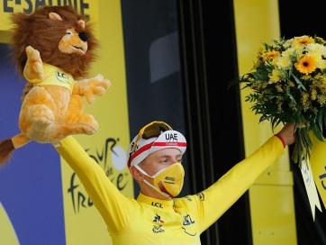 Tour de France: Pogаčar időfutam-győzelmével átvette a sárga trikót - A cikkhez tartozó kép
