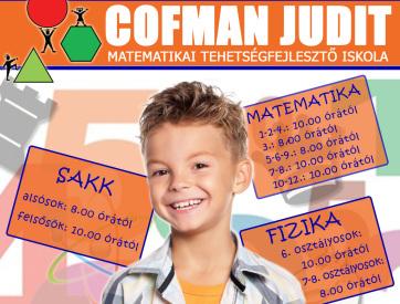 Idén is várja a diákokat a Cofman Tehetségfejlesztő Iskola - A cikkhez tartozó kép