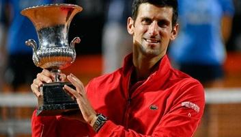 Tenisz: Đoković nyert Rómában! - illusztráció