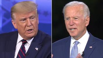 Trump és Biden egymást bírálták - illusztráció