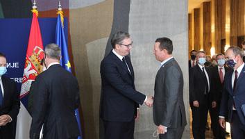Vučić és Brnabić Grenellel és Boehlerrel szimbolikusan megnyitotta a DFC belgrádi irodáját - illusztráció