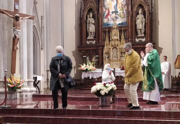 Megünnepelték a 106 éves Kovács Ilonka születésnapját az újvidéki Mária Neve teplomban - A cikkhez tartozó kép