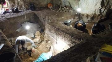 Értékes leletekre bukkantak a régészek a majdanpeki bányákban - A cikkhez tartozó kép