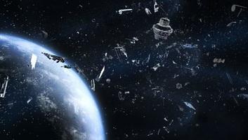 Kis híja volt két hatalmas űrszemét ütközésének - illusztráció