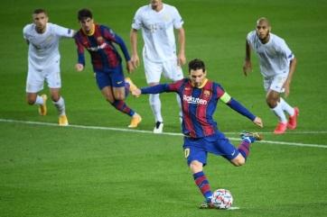 Labdarúgás BL: Négy góllal kapott ki Barcelonában a Ferencváros - A cikkhez tartozó kép