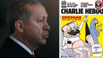 Törökország nyomozást indított a Charlie Hebdo Erdogan-karikatúrája miatt - illusztráció