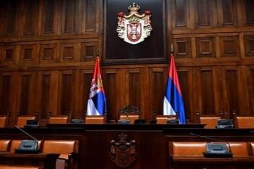 A szerb parlament a kormányról dönt, majd a kabinet tagjai leteszik az esküt - A cikkhez tartozó kép