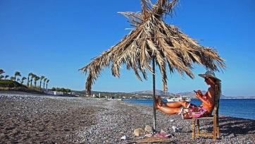 Merengés tengerpartról - A cikkhez tartozó kép