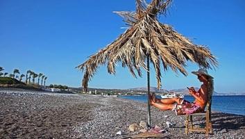 Merengés tengerpartról - illusztráció